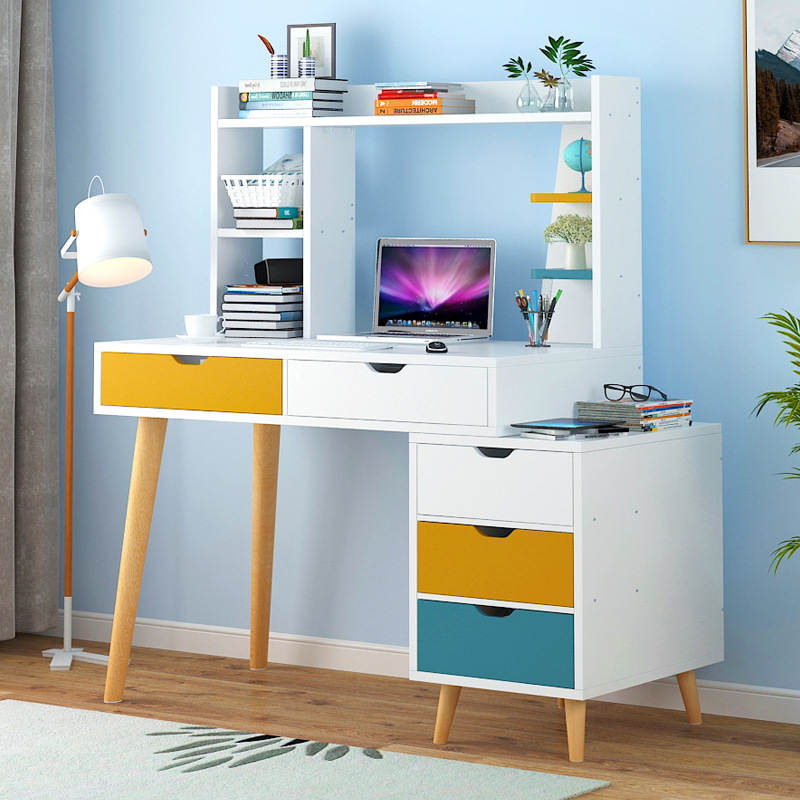 Computer Table Scandinavian Minimalist Computer Desktop Table Bedroom Desk Office Table Simplicity Modern Writing Desk Plate