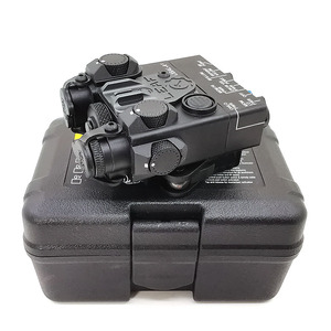 Image 5 - AN/PEQ 15A  DBAL A2 LED White weapon light + Red laser Lenses with Remote Switch Tactical Hunting Rifle Airsoft Battery Box
