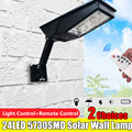 12W LED Solar Light PIR Motion Sensor Solartuinlamp Buitenverlichting Energiebesparende Straat Yard Path Lamp IP65