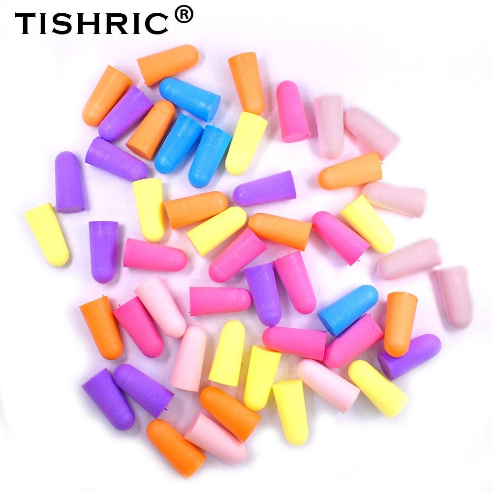 Беруши TISHRIC с шумоподавлением, мягкие беруши из пены, 30/60 дБ, защита от шума для сна, для путешествий, учебы, снижение уровня шума, пар