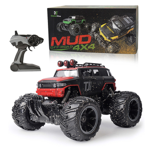 Image 5 - RC Car 2.4G Scale Rock Crawler Remote Control Car Supersonic Monster Truck Off Road Vehicle Buggy xmas gifts for kids