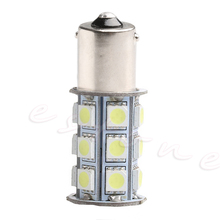 1 шт. SMD 1156 5050 BA15S 27 светодиод автомобиль тормоз хвост поворот свет лампа лампа 12 В белый R2LC
