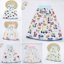 Детская Водонепроницаемая юбка для подгузников Моющиеся Многоразовые