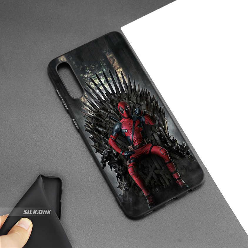 Marvel Deadp Silicone Mềm Dành Cho Samsung Galaxy Samsung Galaxy A7 A9 2018 A10 A20 A30 A40 A50 A60 A70 A80 A20E a90 5G Note 10 M40 Lưng Vỏ