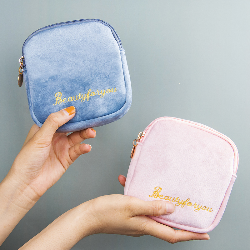 Lipstick Envelope Small Portable Mini Lipstick Box With Ins Wind Light Luxury Cosmetic Bag Lipstick Bag