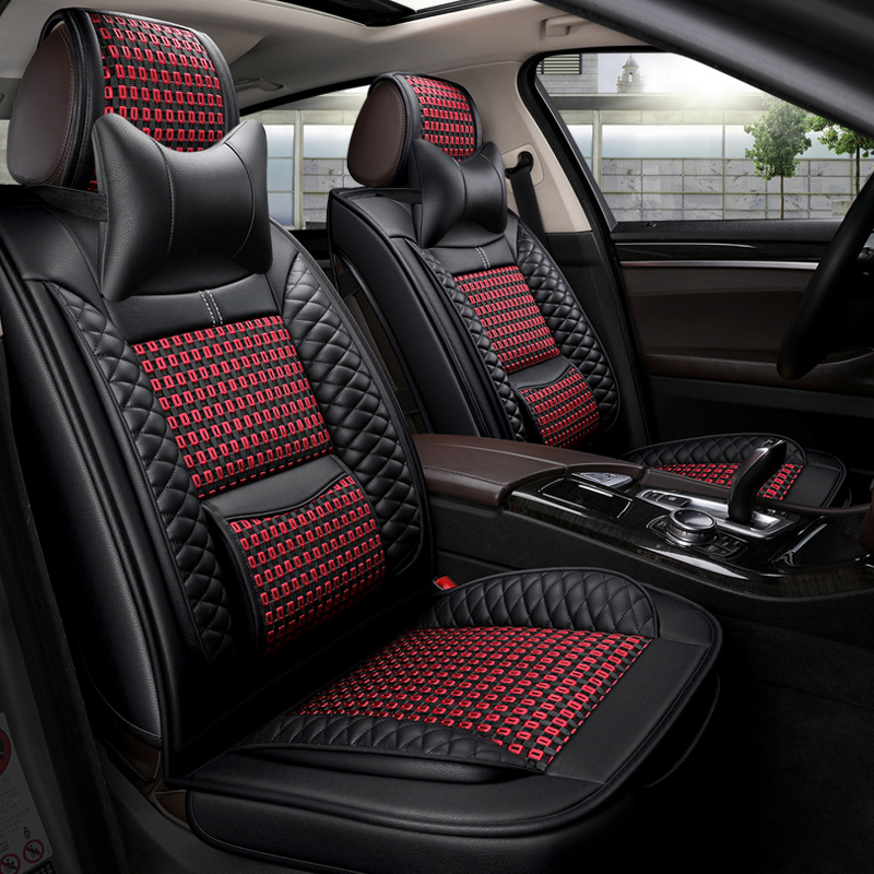 Full Coverage Eco leather auto seats covers PU Leather Car Seat Covers for Volvo cars s60 v40 v60 s80 s90 v90 xc70 xc40 xc60 xc9|Automobiles Seat Covers| |  - title=