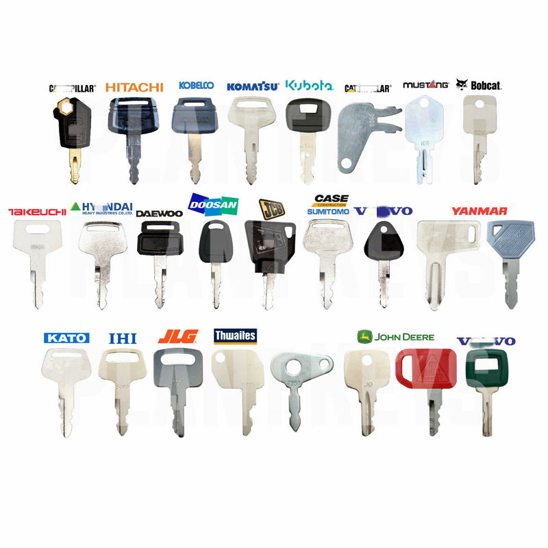 25 ключевых машин набор основных ключей для гусеницы Hitachi Kobelco Komatsu Kubota Mustang 5P8500 H800 52160 459A 787
