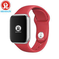 גברים נשים Bluetooth חכם שעון סדרת 4 1:1 SmartWatch 42mm עבור apple watch iOS אנדרואיד סמסונג טלפון לב קצב אק