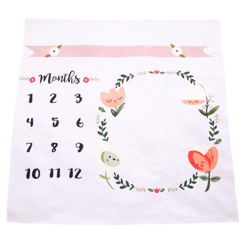 100x100cm Baby Newborn Blanket Kids Infant Baby Cotton Cartoon Photo Photography Prop Wraps Letter Hot