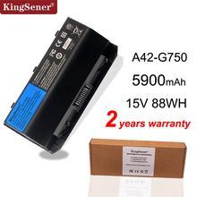 KingSener 15V 88WH A42 G750 Laptop Battery for ASUS ROG G750 G750J G750JH G750JM G750JS G750JW G750JX G750JZ Series 5900mAh