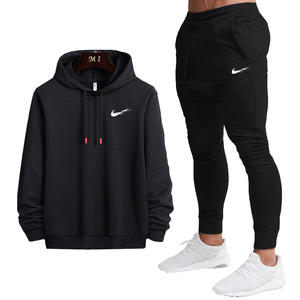 Men Set Clothing Tracksuit Hoodies Sportswear Pants-Sets Sweat-Shirts Men's Casual New-Fashion