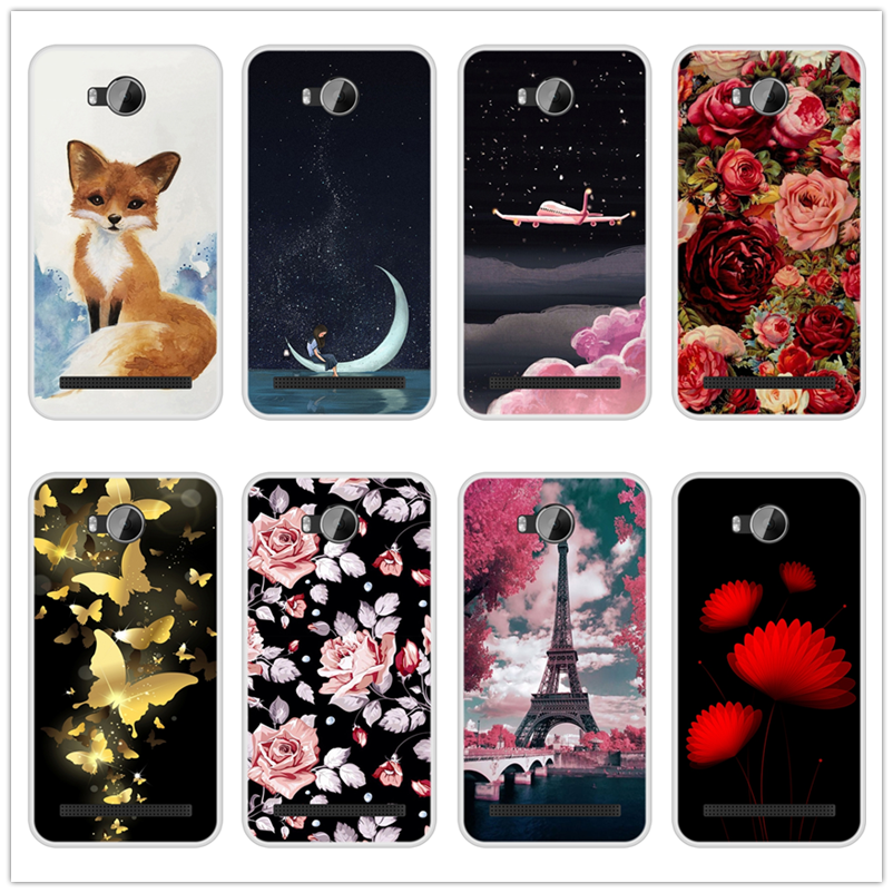 Case for Huawei Y3 II Soft Silicone TPU Cool Design Patterned Printed Cover for Huawei Y3II  Y 3 II Y3 2 LUA L21 Phone Case