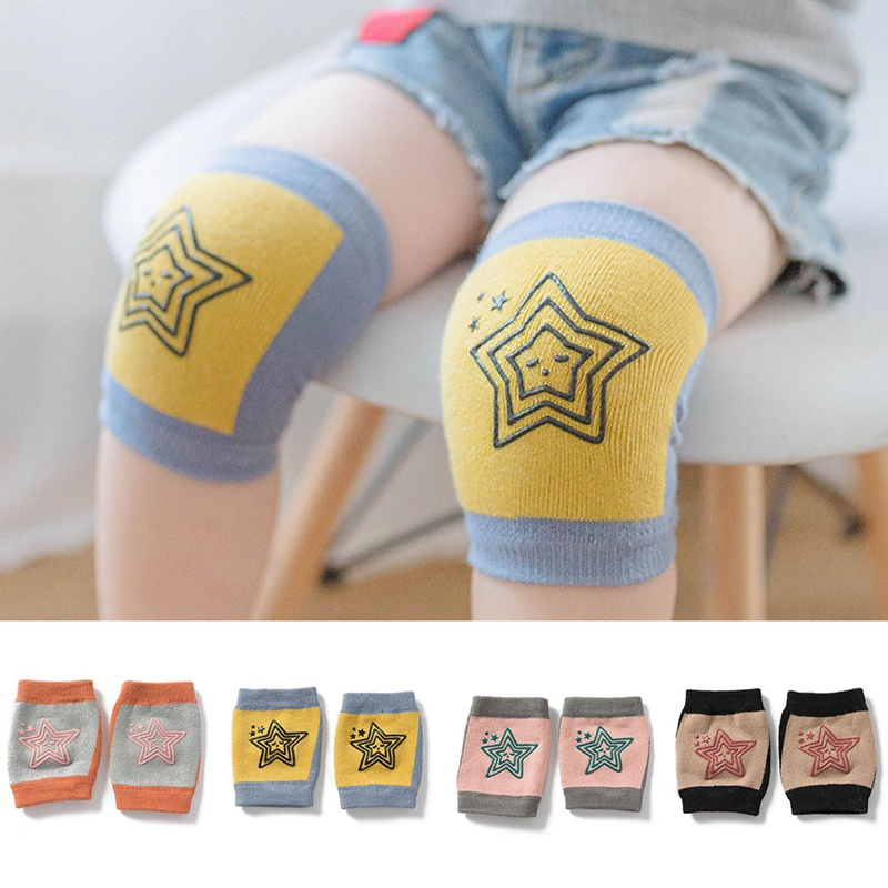 Children Knitted Knee Sleeves Sports Running Skating Comfortable Pads Elastic Safe Leg Sleeve Kids Protective Joint Knee Brace