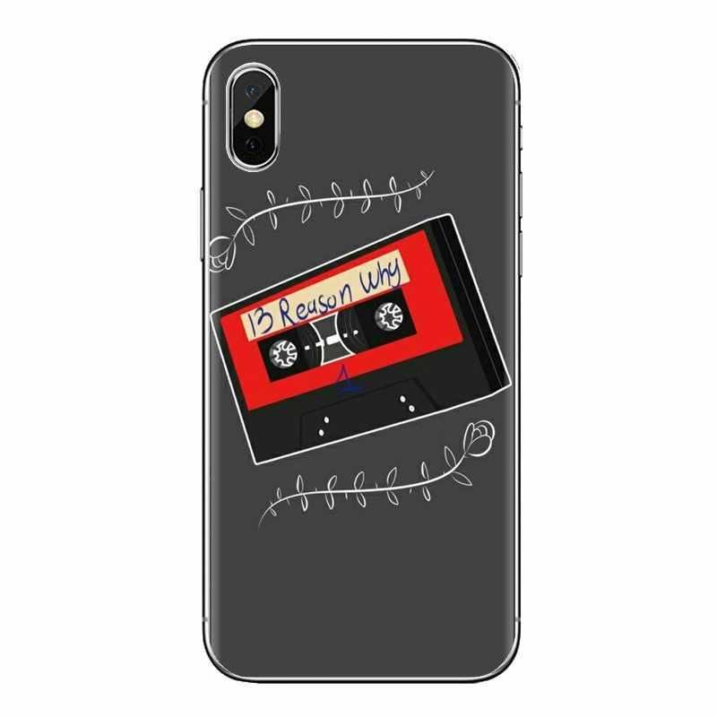 TPU Fall Dreizehn 13 Gründe kassette band Für Samsung Galaxy S2 S3 S4 S5 MINI S6 S7 rand S8 S9 plus Hinweis 2 3 4 5 8 Coque Fundas