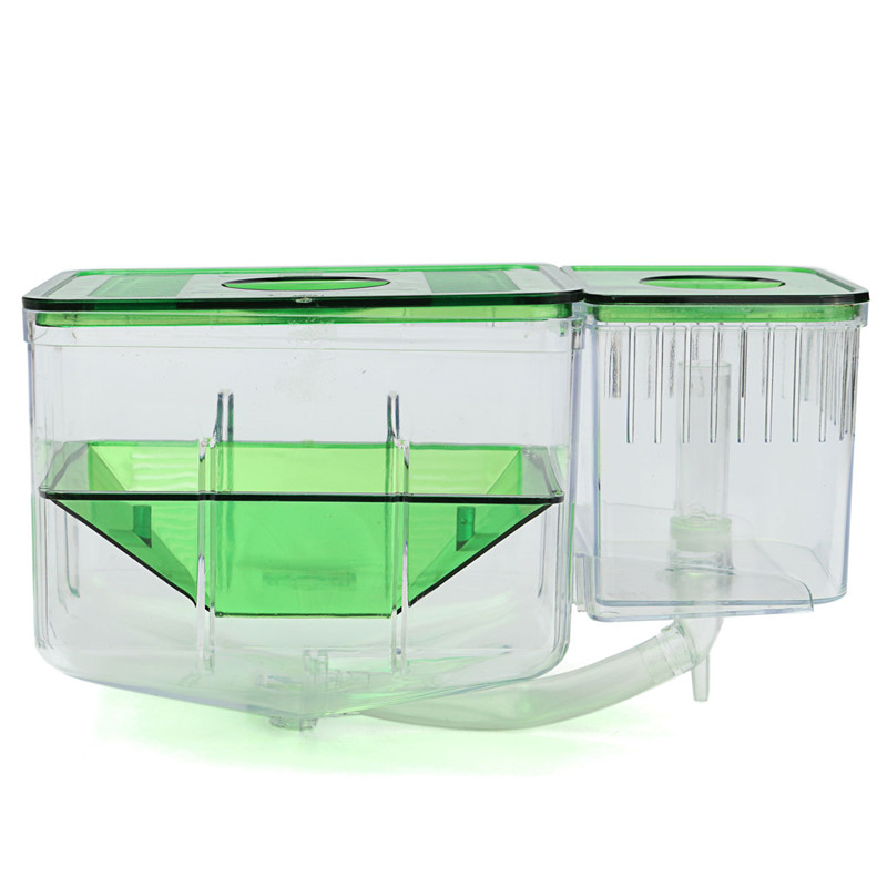 Aquarium Tank Incubator Fry Baby Fish Isolation Box Spawn Hatchery Fish Tank Automatic Circulating Hatchery Baby Fish Breed