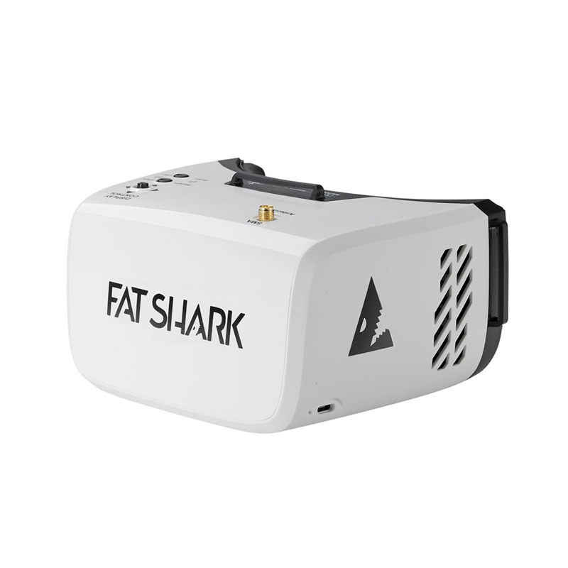 FatShark Scout 4 дюйма 1136x640 NTSC/PAL авто выбор дисплей FPV очки видео гарнитура Bulit-in батарея DVR для моделей RC