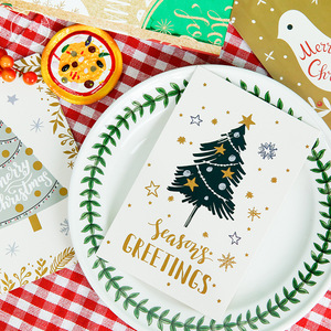 Image 4 - 60pcs Christmas Postcards Set Gift Cards Postales Cute Santa Snowman Post Card Holidays Decorative DIY Wholesale