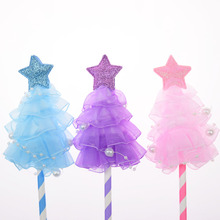 Cake Toppers Flags Star Dress Happy Birthday Glitter Cupcake Topper Wedding Bride Kids Cake Party Baby Shower Baking DIY 20pc цена и фото