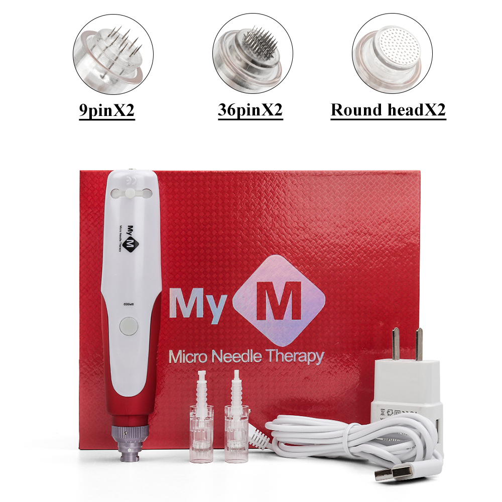 Bayonet Derma Pen Needle Cartridge NeedleTips Exfoliate Shrink Pores Device Electric Micro Rolling Dr Pen Stamp Therapy Skincare