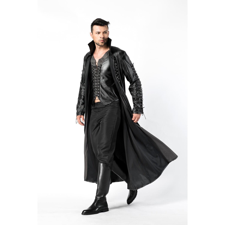 Mens Male The Matrix Film Neo Cybe Man Cosplay Party Fancy Dress Uniform Costume