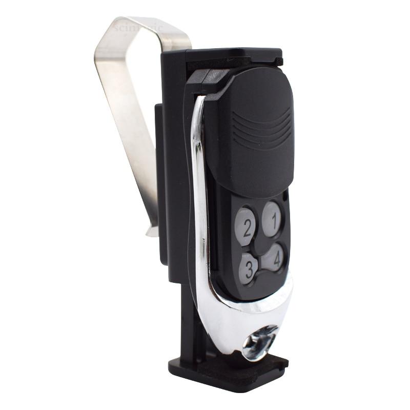 Car Sun Visor Bracket/Clip For Universal Garage Door Remote Control Command Transmitter Gate Control Keychain 50-70mm