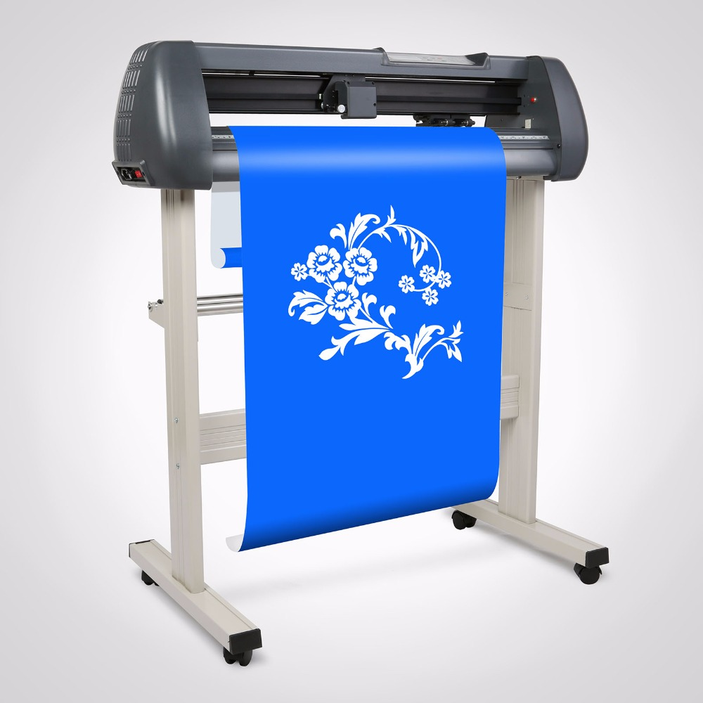 "720mm Vinyl Cutting Plotter 28"" Sign Cutter Design Maker USB Port Design Artcut Software"