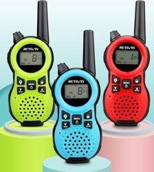 Retevis RT638 RT38 Walkie Talkie Children 2pcs Flashlight USB Charging Children's radio For Camping  Birthday New Year Gift