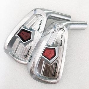 Image 3 - חדש גולף ראש ג ורג רוחות גולף איירונס סט 4 9P פלדת פחמן מועדון מגהצים ראש לא גולף פיר משלוח חינם