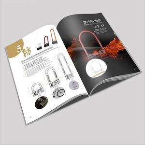 Indywidualny katalog broszur korporacyjnych ulotka spersonalizowane broszury magazyn broszura drukowanie zamykany pokrowiec na zamówienie