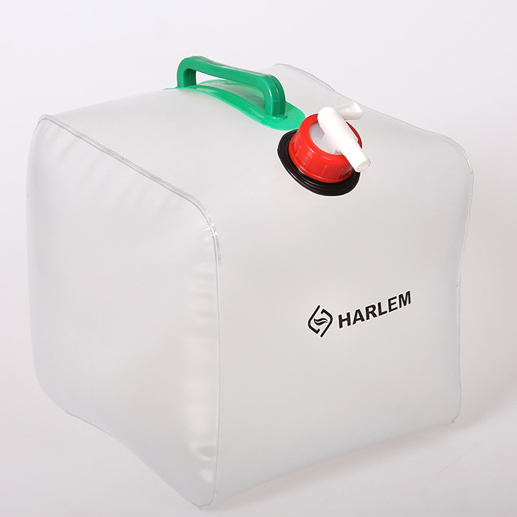 Collapsible Water Bag Folding Transparent Jug Drinking Container 10L 20L Portable Water Carrier Bucket Water Bag