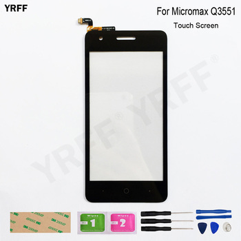 For Micromax Q3551 Touch Screen Digitizer Sensor Glass Panel Replacement Assembly Parts high quality new 10 1 inch for acer one 10 10 1 intel atom 32gb laptop n15p2 touch screen digitizer sensor replacement parts