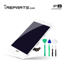 цены IREPARTS LCD Display for iPhone 8 Touch Screen Replacement Pantalla No Die Pixel + Tools Gift