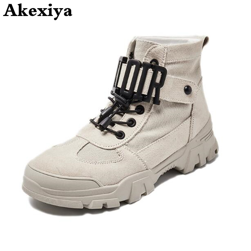 2019 Women Ankle Boots Girl Round Head