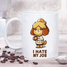 Animal Crossing Horizons Lustige 350ml Keramik Kreative Kaffee Tee Becher Freund Neue Jahr Geschenk Tasse