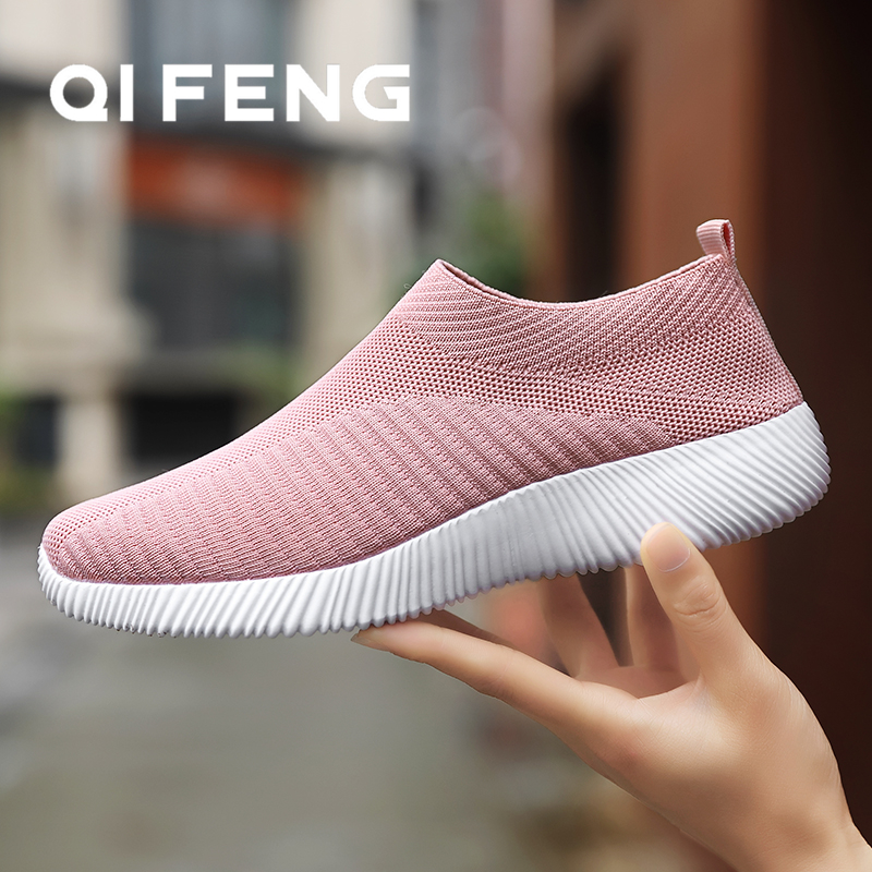Hot Sale Running Shoes Woman Spring Ladies Shoes Mesh Sport Shoes Light Gym Shoes Summer New Indoor Flats Sneakers Large Size