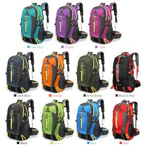 Image 5 - 방수 등산 배낭 배낭 40L 야외 스포츠 가방 여행 배낭 캠핑 하이킹 배낭 여성 트레킹 가방 남성용
