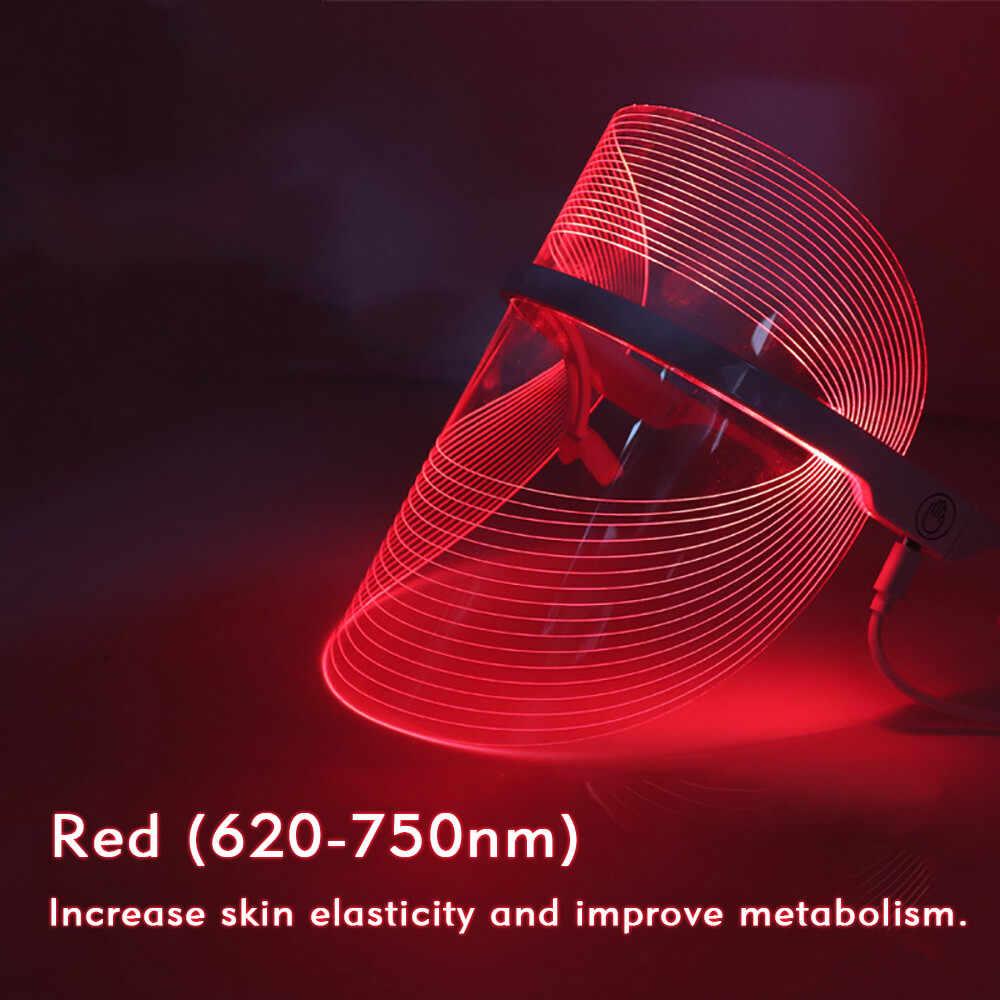 Đèn Led Mặt Nạ Spa Làm Đẹp Chăm Sóc Mặt Máy Mát Xa Trị Liệu Mụn Chống Nhăn Tẩy Trang Thiết Bị Làm Trắng Da Khít Máy