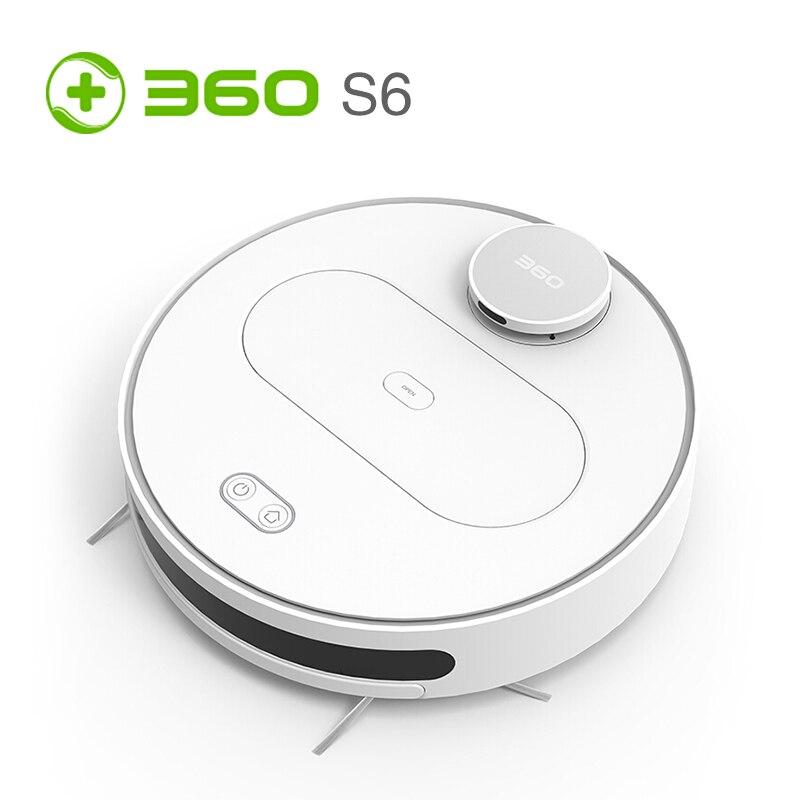 360 S6 Robot aspirateur automatique télécommande nettoyage Robot balayage poussière stériliser aspirateur Aspirador EU Plug
