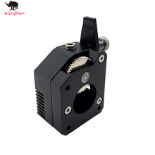 цена на Bowden Extruder BMG extruder Cloned Btech Dual Drive Extruder for 3d printer High performance for 3D printer MK8