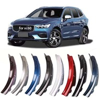 for volvo xc60 rear wheel fender 2018 2019 XC60 special rear door rear wheel fender modification car accessories mudguard 2020