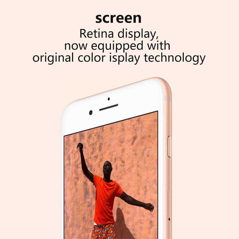 Used Unlocked Original iPhone 8 Plus Cell Phones 5.5inch Fingerprint Smartphones 3+64/256GB 7+12MP 1SIM Card Mobile Phone