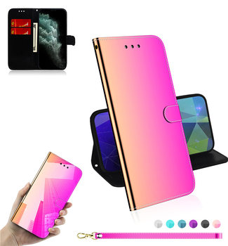 YXAYN Glitter Holographic Leather Wallet Cover for iPhone12Mini 11 Pro Max Xr X xs max 7 8 plu Flip Luxury Case
