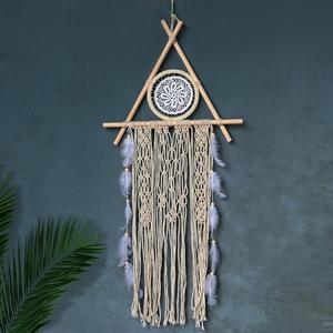 Nordic dreamcatcher tapestry dekoracja pokoju wystrój domu handmade dreamcatcher makrama prezent łapacz snów dla kobiet mężczyzn