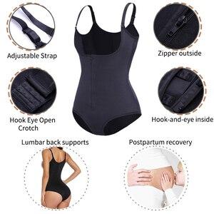 Image 5 - Postpartum Tummy Control Belly Bandage For Post Parto Women Female Bodyshaper Brief Postnatal Cloth Corrective Pulling Underwear