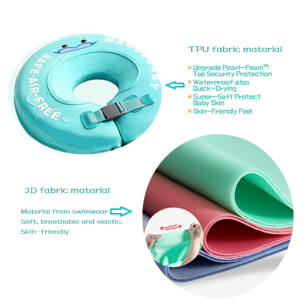 Ultimate SaleRing Accessories Swimming-Pool-Toys Swim-Trainer Non-Inflatable Baby Infant Solid