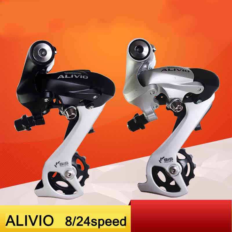 ALIVIO DEORE XT Bicycle Derailleur Bike Parts RD-M410 bicycle bike Riding Cycling MTB 8/24speed Bike Rear Derailleur image