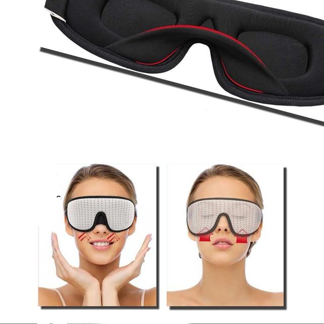Blocking Light Sleeping Eye Mask Soft Padded Travel Shade Cover Rest Relax Sleeping Blindfold Eye Cover Sleep Mask Eyepatch 2