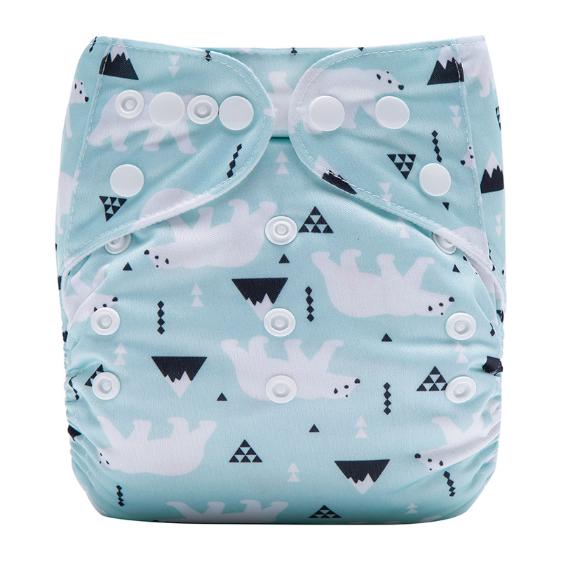 Sleepy Baby Diaper Organic Cloth Baby Diapers Nappies Biodegradable Modern Baby Cloth Nappies L32