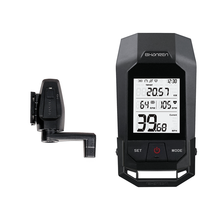 ShanRen Raptor Pro bicycle light Bluetooth bike speedometer with cadence and heart rate Auto stop