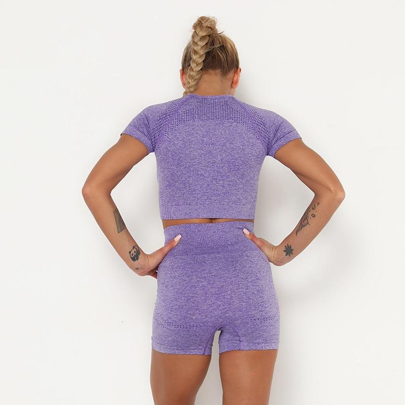 H586ad69ef6be4c629f445e3d72e32fc7d Kaminsky 14 Colors High Waist Seamless Leggings For Women Solid Push Up Leggins Athletic Sweat Pants Sportswear Fitness Leggings